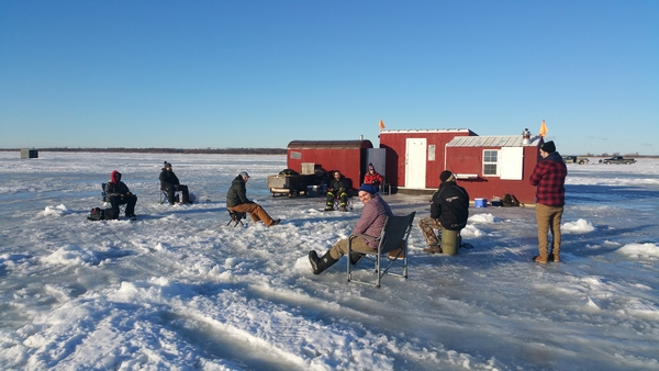 Ice fishing trips 2018