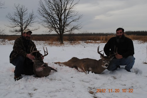2012 Whitetail Deer hunting