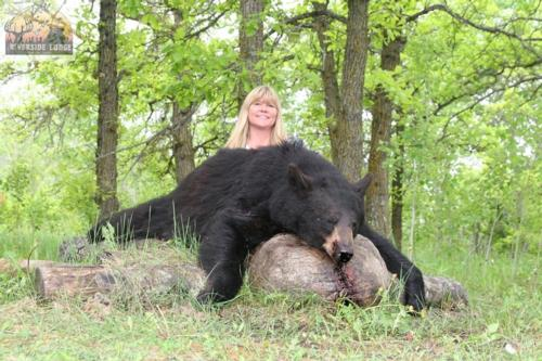 Another Succesful Manitoba Black Bear season is over.