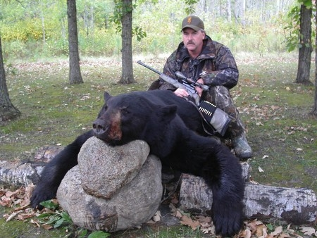 Black Bear Hunting Manitoba Canada